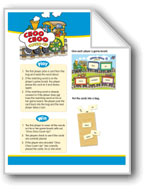 Choo Choo Cover-Up (High-Frequency Words: Center Games, Level B)