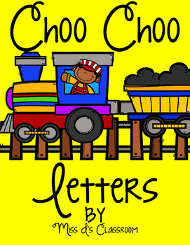 Choo Choo Letters!