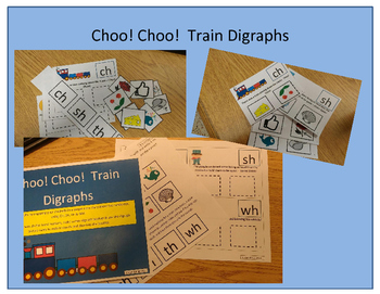 Choo! Choo! Train Digraphs
