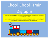 Choo! Choo! Train Digraphs