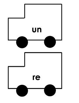 Choo Choo Train Prefixes