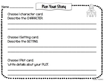 Story Elements Graphic Organizer | Story Planning | Story Maps