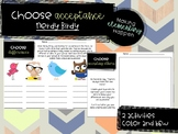 Choose Acceptance - Back to School / Soft Skills - Nerdy Birdy