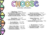 Choose Back to School / Soft Skills Growing BUNDLE Release Schedule