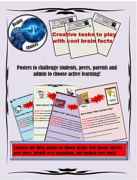 Choose Brain Based Approaches from Posters, Tasks and Cheat Sheets