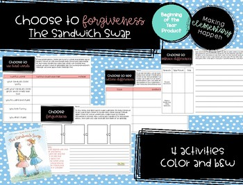 Choose Forgiveness - Back to School / Soft Skills - The Sandwich Swap