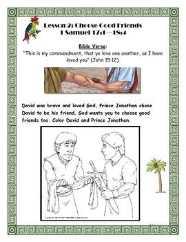 Choose Good Friends: David and Jonathan