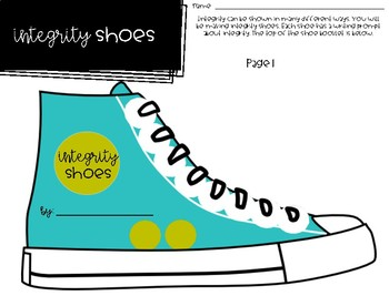 Choose Integrity - Back to School and Soft Skills - Those Shoes