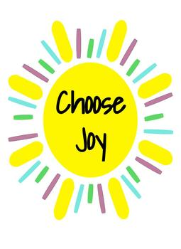 Choose Joy Freebie!