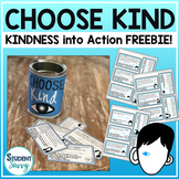 Choose Kind - Action Cards Freebie Wonder