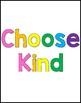 Choose Kind Poster
