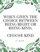 Choose Kindness Poster, Wonder