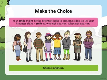 Choose Kindness PowerPoint