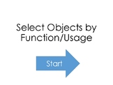 Choose Objects by Function/Usage Interactive PDF