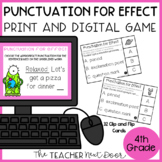 Choose Punctuation for Effect Game | Choose Punctuation fo
