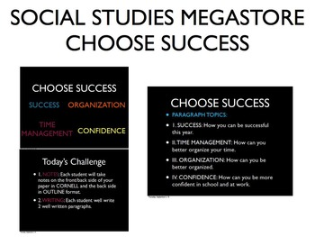 Choose Success Writing Assignment