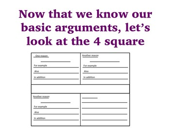Choose Your Argument - A Common Core Opinion Writing Unit - Add Details