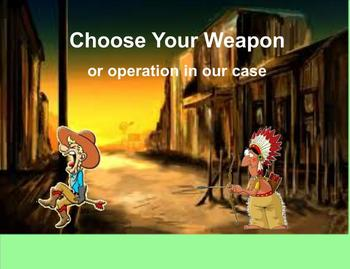 Choose Your Operation for Problem Solving