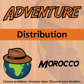 Choose Your Own Adventure -- Distribution -- Morocco