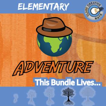 Choose Your Own Adventure -- ELEMENTARY CURRICULUM BUNDLE -- 56+ Activities!