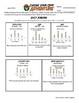 Adventure Math Worksheet -- Line Plots -- Chile