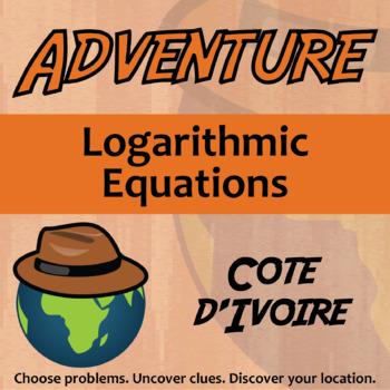 Choose Your Own Adventure -- Logarithmic Equations -- Cote d'lvoire