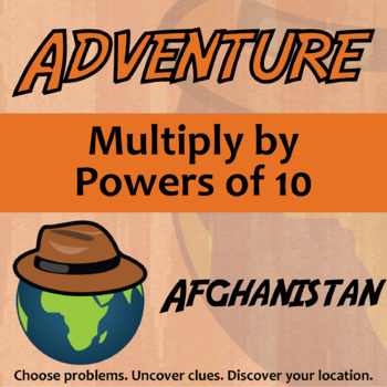 Choose Your Own Adventure -- Multiply by Powers of 10 -- A