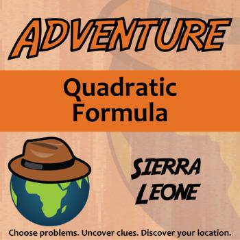 Choose Your Own Adventure -- Quadratic Formula -- Sierra Leone