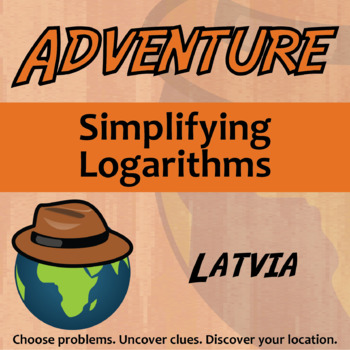 Choose Your Own Adventure -- Simplifying Logarithms -- Latvia