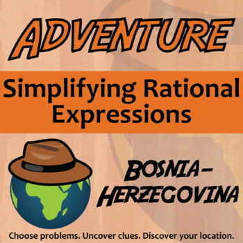 Adventure Math Worksheet Simplifying Rational Expressions
