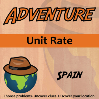 Choose Your Own Adventure -- Unit Rate -- Spain