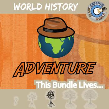 Adventure -- WORLD HISTORY -- Creative Writing Warm-Up Prompts