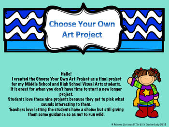 Choose Your Own Art Project