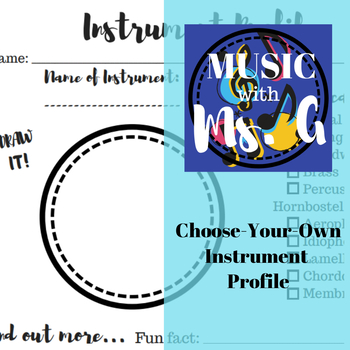 Choose-Your-Own Instrument Profile
