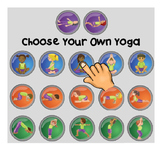 Choose-Your-Own-Yoga SmartNotebook exercise / body breaks
