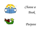 Choose a Book Poster Cards