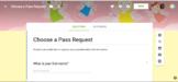 Choose a Pass Request Form