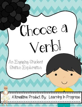 Choose a Verb - An Engaging Station