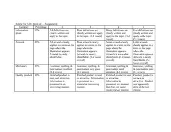 Choose a topic research portfolio