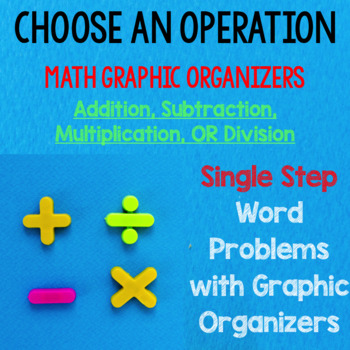 Choose an Operation Word Problems with Graphic Organizers NO PREP