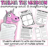 Choose the Best Summary Practice: Thelma the Unicorn by Aa