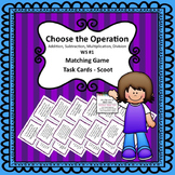 Choose the Operation ASMD Task Cards #1