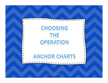 Choose the Operation Anchor Charts