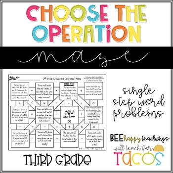 Choose the Operation Maze