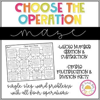Choose the Operation Maze Level 1