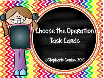 Choose the Operation Task Card Set