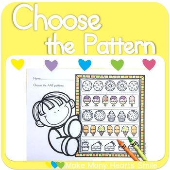 Choose the Patterns: Sweets    MMHS23