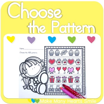 Choose the Patterns: Valentine's Day    MMHS23