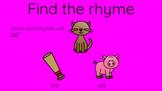 Choose the Rhyme Google Slideshow