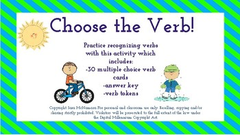 Choose the Verb!